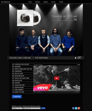 The National - sitio web