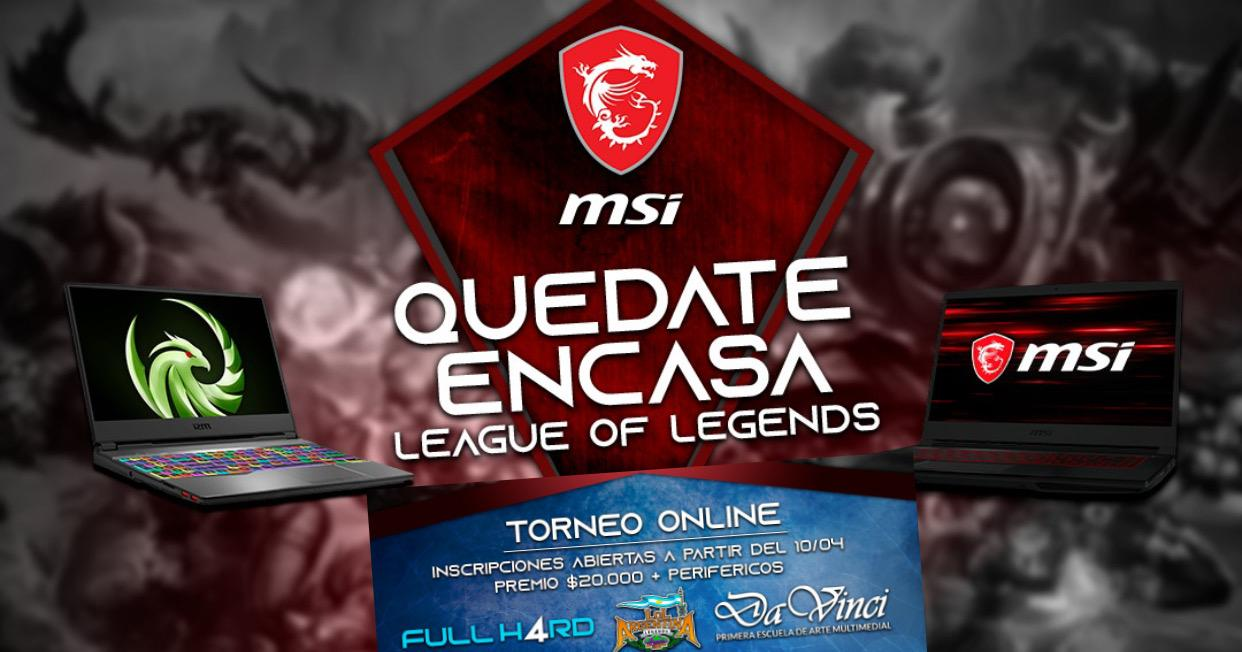 Torneo Online Gratuito de League of Legends